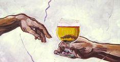 Artista adiciona cerveja a pinturas famosas