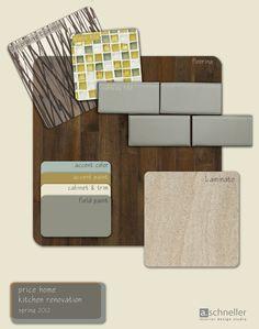 Sample Color Board