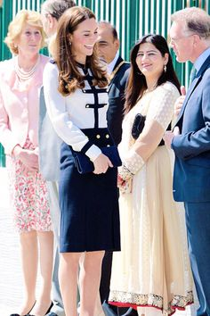 Kate at newly restored Bletchley Park, home of WWII code breakers. June 18, 2014