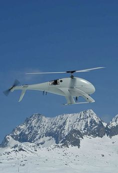 Swiss UAV, NEO S 300, unmanned helicopter, Photo credit: Swiss UAV, via wikimedia commons