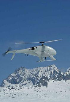 Swiss UAV, NEO S 300, unmanned helicopter, Photo credit: Swiss UAV, via wikimedia commons