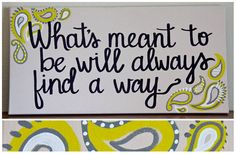 Custom Scripture or Quote  10X20 Canvas by graceelliott10 on Etsy, $38.00