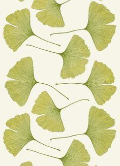 Marimekko - Ginkgo sateen fabric