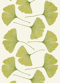 Marimekko - always love gingko leaves...