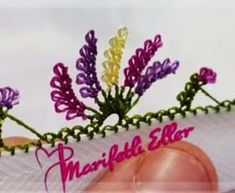Needle Lavender modeling - Diy and Crafts Crafts For Teens To Make, Crafts To Sell, Diy And Crafts, Tatting Tutorial, Hairpin Lace, Point Lace, Needle Lace, Olay, Decor Crafts