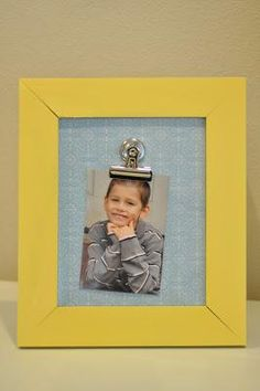Cre8time Changeable Picture Frame - fun idea!