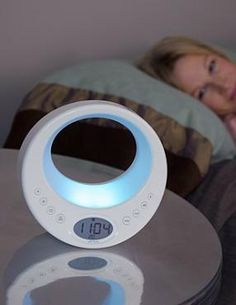 The perfect holiday gift, the Rise & Shine Serenity Clock & Light gently awakens and enables a fresh start to every day.