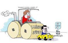 Não vai ser fácil ! | Humor Político