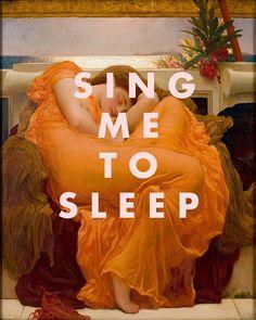 The Smiths Poster Asleep Lyrics Print Sing Me to Sleep Fine