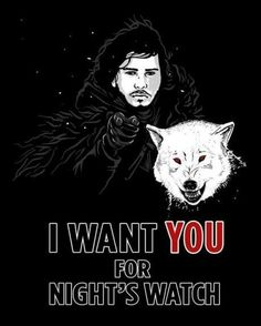 Night's Watch - Game of Thrones