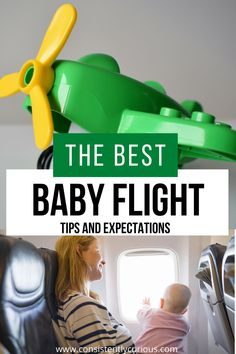 Tips for taking baby on an airplane. Must haves items for baby's first flight!   #babytravel #babyairplanetips #babyonaplane #travelingwithababy Toddler Travel, Travel With Kids, Family Travel, Family Adventure, Adventure Travel, Air Travel Tips, Flying With A Baby, Traveling With Baby, Infant