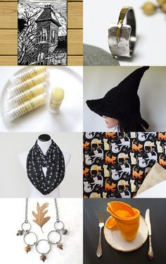 Bewitching October Gifts by Annie on Etsy--Pinned with TreasuryPin.com