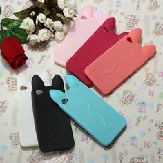 Fashion Lovely Koko Cat Soft Silicone Case Cover Skin For iPhone 4 4G 4S