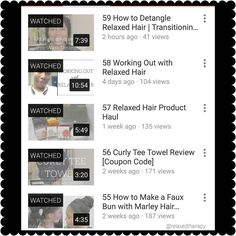 New Video & #blogpost: Detangling Relaxed Hair | Transitioning Hair. Link in bio. Check it out & be sure to subscribe while there.  #relaxedthairapy #relaxedhair #transitioninghair #detangling
