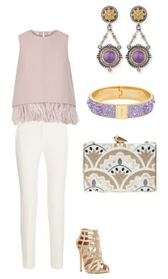 """""""Night Out"""" by katiem-4 on Polyvore featuring Roland Mouret, The 2nd Skin Co., Steve Madden, Henri Bendel, KOTUR, Konstantino, women's clothing, women, female and woman"""