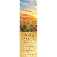 This is the Day the Lord Has Made (Psalm 118:24) Bookmarks, 25