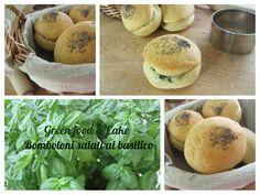 Bomboloni salati al basilico http://blog.giallozafferano.it/greenfoodandcake/bomboloni-salati-al-basilico/