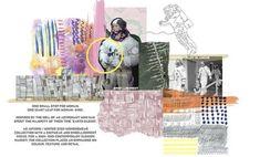 Fashion Design Sketchbook, Fashion Design Portfolio, Portfolio Layout, Portfolio Ideas, Collages, Sketchbook Layout, Concept Board, Fashion Collage, Student Fashion