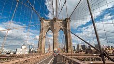 Everything you need to know about visiting the Brooklyn Bridge (New York, NY). Sure, the Brooklyn Bridge serves a practical purpose as the means for millions