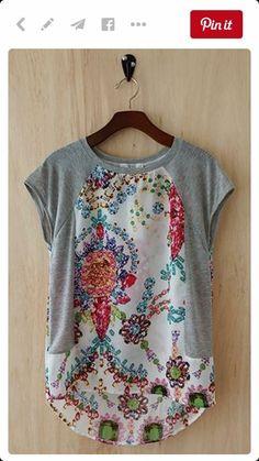 Like this feminine tshirt