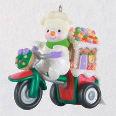 Gingerbread Delivery Ornament - Keepsake Ornaments - Hallmark $17.99