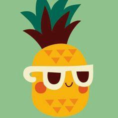 """Sometimes in life, you just gotta chill"" Cute + Kawaii Pineapple wallpaper! Sf Wallpaper, Iphone Wallpaper, Cute Wallpapers For Iphone, Art Mignon, Cute Backgrounds, Grafik Design, Cute Art, Cute Pictures, Illustration Art"