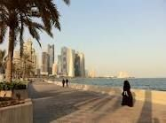 Doha corniche, old stomping ground