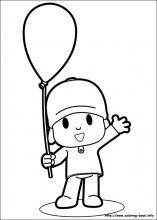 Pocoyo coloring pages on Coloring-Book.info