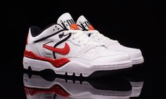 """Nike Air Force III Low """"White/Red"""""""
