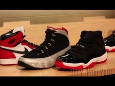 5119eabf7053 OFFICIAL  Nike Air Jordan XI Black Red 2012 Release Preview Live! www. defynewyork.com