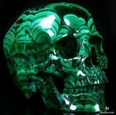 Malachite skull!!!!!!