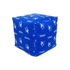 Duke Blue Devils Cushion Cube Pouf, Multicolor