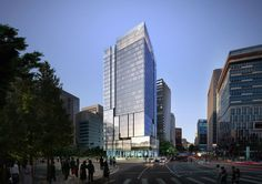 Daishin Securities Headquarters in Seoul, Korea by H Architecture