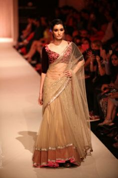 Manish Malhotra. LFW A/W 13'. Indian Couture.