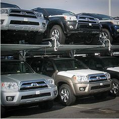 Whether a commercial parking lot, a congested automotive dealership, or a private residential garage, Harding Steel has your car parking lift system. SUV Lifts, Mechanical SUV Parking Storage System, Hydraulic SUV Parking Lift Equipment.