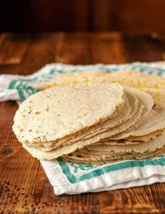 Corn tortillas are m
