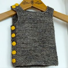 Ravelry: Project Gallery for Pebble (Henrys Manly Cobblestone-Inspired Baby Vest) pattern by Nikol Lohr