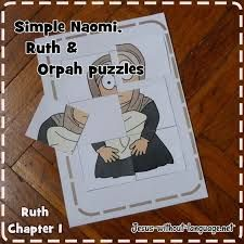 Image result for kids craft for naomi and ruth