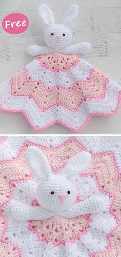 Crochet blanket patterns free 361695413821933535 - Round Ripple Bunny Lovey Crochet Free Pattern Source by Crochet Lovey Free Pattern, Bunny Crochet, Easy Crochet Blanket, Crochet Motifs, Crochet Amigurumi, Crochet Blanket Patterns, Crochet Dolls, Baby Patterns, Knitting Patterns