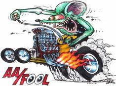 Monster Car Fink Rat | Rat Fink AA/Fool photo ERWAAFool.jpg