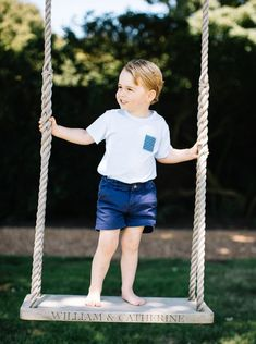 Happy Birthday Prince George: Pictures released showing little heir playing with dog Lupo as royal tot turns three - Mirror Online