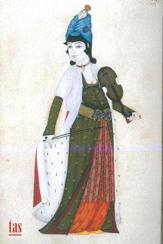 Lady with violin Turkey Weather, Empire Ottoman, Ottoman Turks, Visit Turkey, Modern History, Plan Your Trip, Art Inspo, Medieval, Miniatures