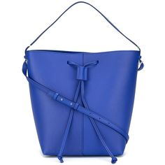 Pb 0110 Drawstring Shoulder Bag (32,170 INR) ❤ liked on Polyvore featuring bags, handbags, shoulder bags, royal blue handbag, royal blue shoulder bag, shoulder bag purse, electric blue handbag and drawstring purse
