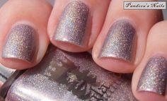 A England - Princess Tears: Gorgeous silvered lilac holographic nail polish