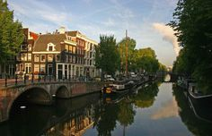 Singel and Brouwersgracht canals, Amsterdam