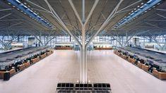 2004 Germany, Stuttgart  Stuttgart Airport, Terminal 3-gmp Architekten von Gerkan, Marg und Partner