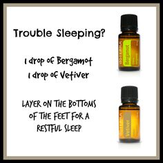 Trouble Sleeping?  Try doTERRA essential oils!  Visit my store to order:  www.mydoterra.com/thenaturalneurotic