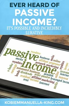 """Ever heard of """"passive income?"""" It's possible and incredibly lucrative today! Here are your best passive income opportunities: http://realpassiveincomeideas.com/43-best-passive-income-streams-opportunities/"""