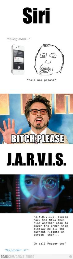 I want a Jarvis, and a RDJ.
