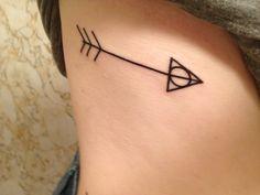 My new deathly hallows/arrow tattoo